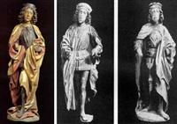 male saints by hans klocker