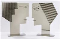 romeo & juliet sculptures by franz hagenauer