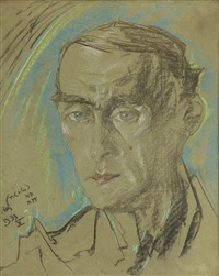 portret doktora jana władysława pakowskiego by stanislaw ignacy witkiewicz