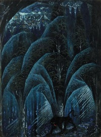 the beast in the forest by sidney h. sime