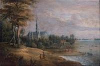 paysage des flandres by lucas van uden