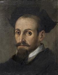 portrait d'homme au chapeau noir by sofonisba anguissola