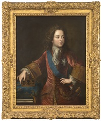 portrait de louis xv by pierre gobert