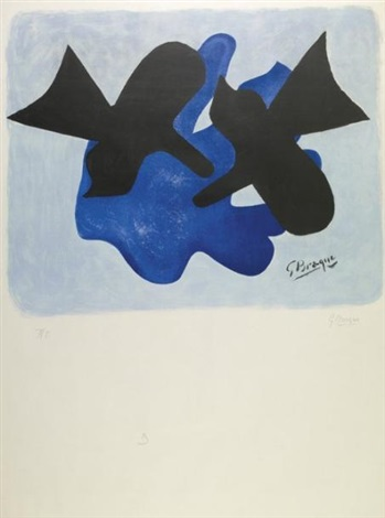 oiseaux by georges braque