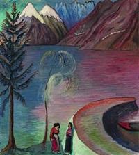 a l'aube by marianne werefkin