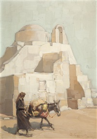 the church of paraportiani in mykonos by vasilis germenis