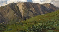 frühling in den bergen by vittorio avanzi