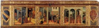 scenes from the story of esther by giovanni di paolo