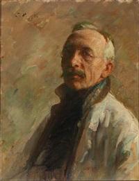 the artist's self-portrait by julius paulsen