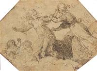 the death of lucretia by pomponio amalteo
