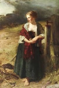 behold her, single in the field by robert herdman