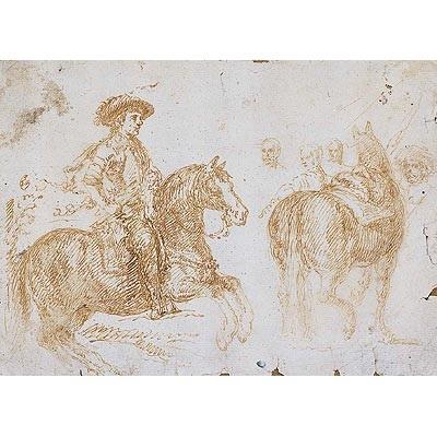 felipe iv a caballo y estudio cuadro de las lanzas by diego rodríguez de silva y velásquez