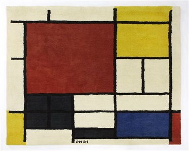 artwork by piet mondrian