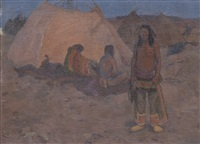 the encampment by eanger irving couse