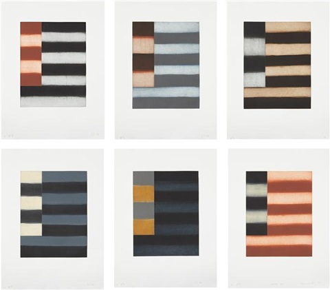 enter six portfolio of 6 by sean scully