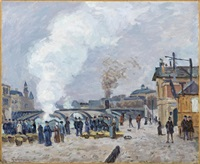 les quais de gèsvres à paris by armand guillaumin