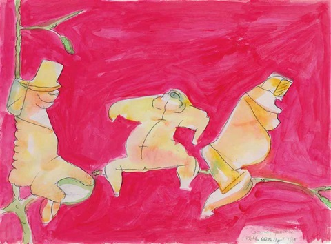 geschaeftspartner business partners by maria lassnig