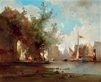 partie in venedig by jean d' alheim