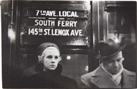 untitled (subway portrait), new york by walker evans