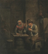scène de taverne by egbert van heemskerck the younger