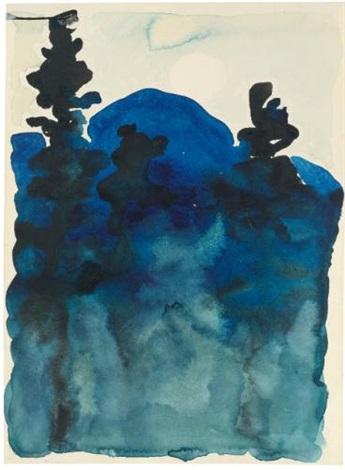 blue hills no. iii by georgia o'keeffe