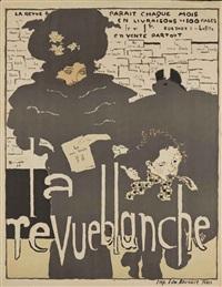 affiche de la revue blanche by pierre bonnard