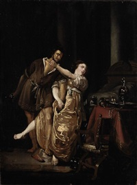 tarquin and lucretia by willem bartsius