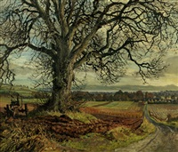 elm tree, fowlis by james mcintosh patrick