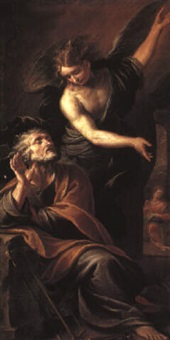 the dream of st. joseph by stefano maria legnani