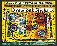 count a certain number by alan davie