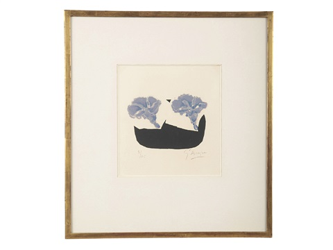 morning glory by georges braque