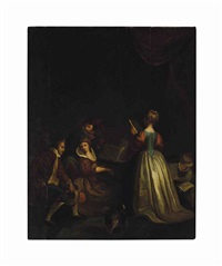 a group of musicians by jean-baptiste santerre
