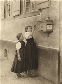 the letter box (from picturesque bits of new york) by alfred stieglitz