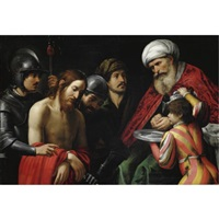 cristo davanti a pilato by lionello spada