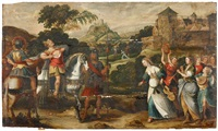 jephthah keeps his vow to jehovah by frans floris the elder
