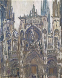 cathédrale de rouen by claude monet