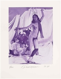 ice naked skating (6 parts) by carolee schneemann