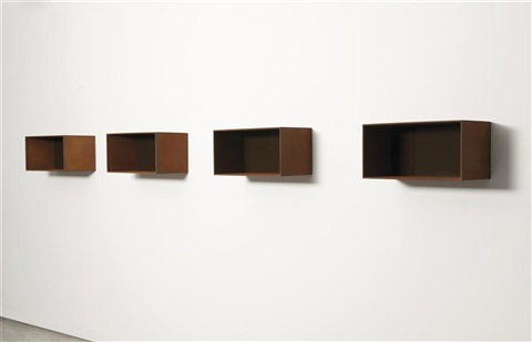 untitled 90-9 donaldson (in 4 parts) by donald judd