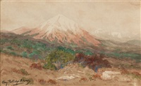 mountainscape by charles partridge adams