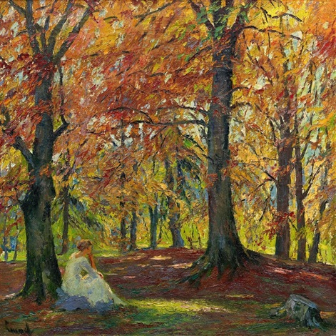 herbsteinsamkeit by edward cucuel