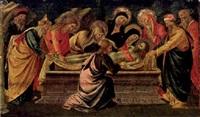 die grablegung christi by domenico di michelino