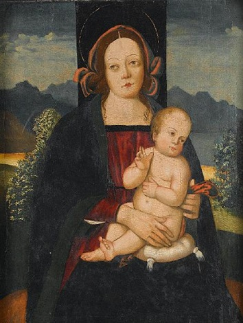 the madonna and child by antonio massari da viterbo