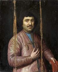 portrait d'un gentilhomme russe by pieter lastman