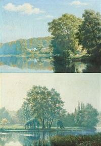 bords de rivière (2 works) by pierre abattucci