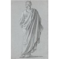 standing figure viewed from behind by noël nicolas coypel