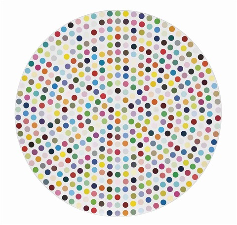 zinc chloride by damien hirst