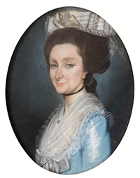 portrait of edith monroe by jaques gabriel huquier