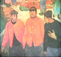 pescadores vasco by aurelio arteta y errasti