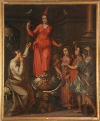 la jeune sorcière by vincent sellaer