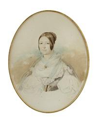 woman in white by vladimir ivanovich hau